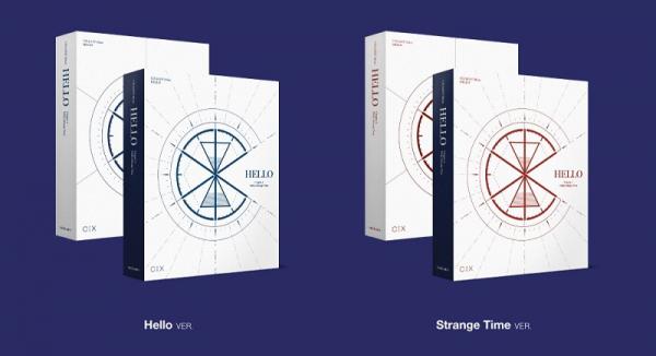 CIX 3rd Mini Album - 'HELLO' Chapter 3 Hello, Strange Time