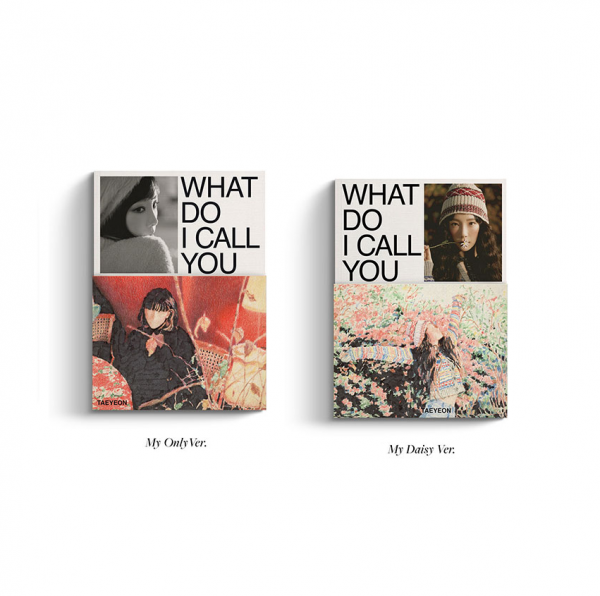 TAEYEON (Girls' Generation) Mini Album Vol. 4 - What Do I Call You