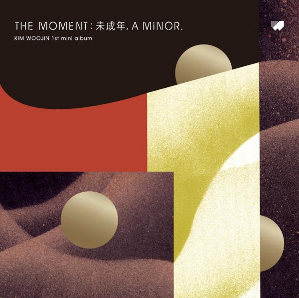 KIM WOO JIN - The moment : 未成年, a minor.
