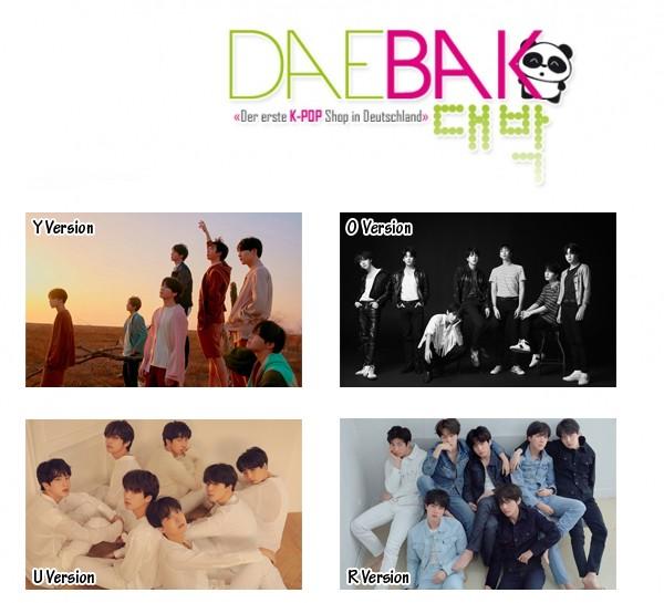 BTS - TEAR LoveYourself Poster (59.4x42cm)