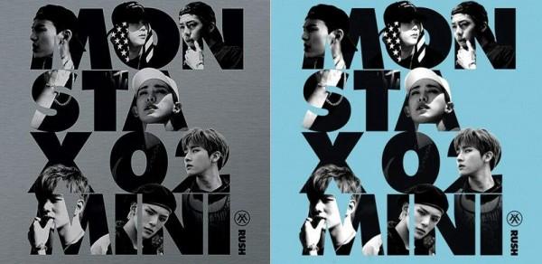 Monsta X - Rush 2nd Mini Album