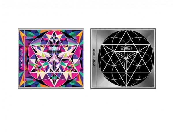 2NE1 - Crush Album (Black Version)