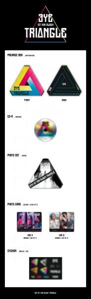 3YE 1st Mini Album - TRIANGLE