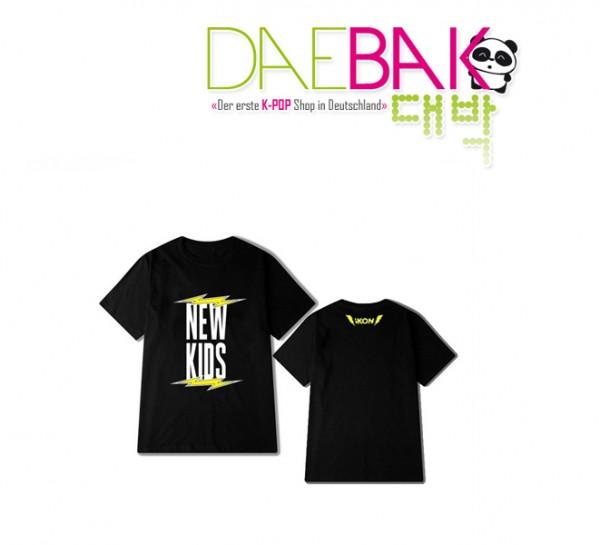 iKON - T-Shirt (Größe: L) - NEW KIDS