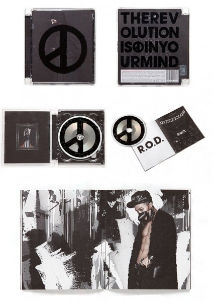 G-Dragon - Coup de' tat 2nd Album (Black Version)