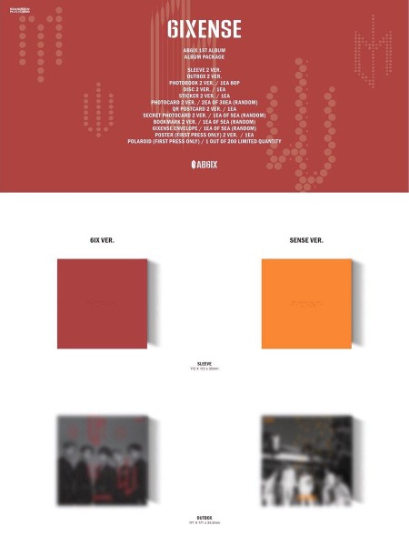 AB6IX Album Vol.1 6IXENSE