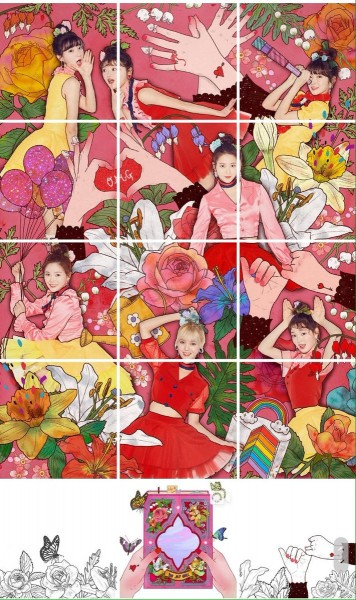 OH MY GIRL - 4th Mini Album - COLORING BOOK