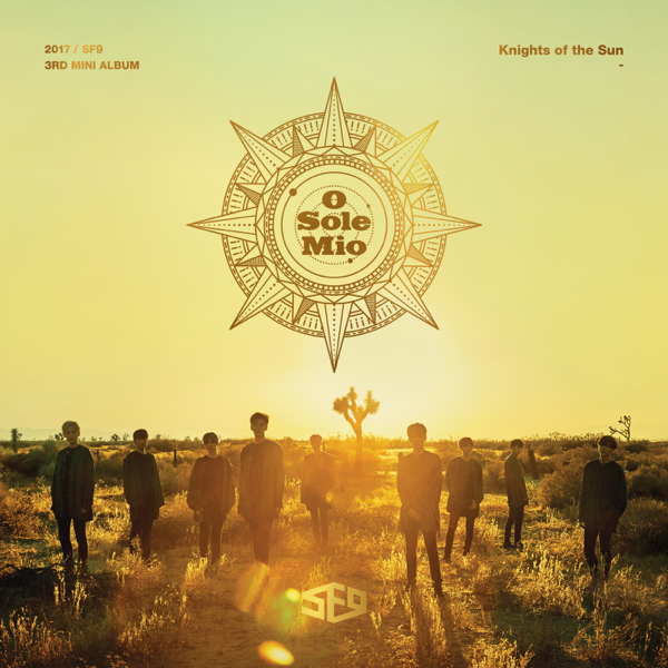 SF9 - 3rd Mini Album - KNIGHTS OF THE SUN