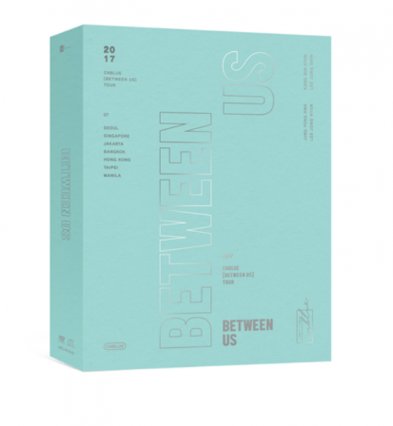 CNBLUE [BETWEEN US] 2017 TOUR DVD