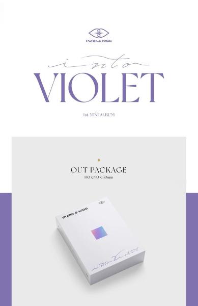 PURPLE KISS 1st Mini Album - Into Violet