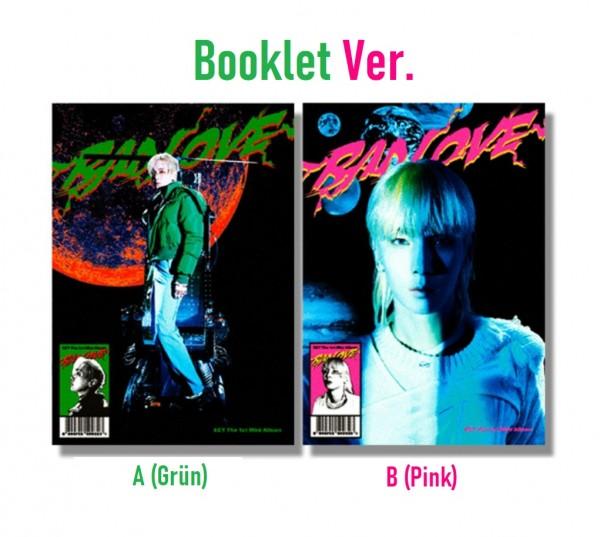 KEY - BAD LOVE 1st Mini Album [Booklet Ver.]
