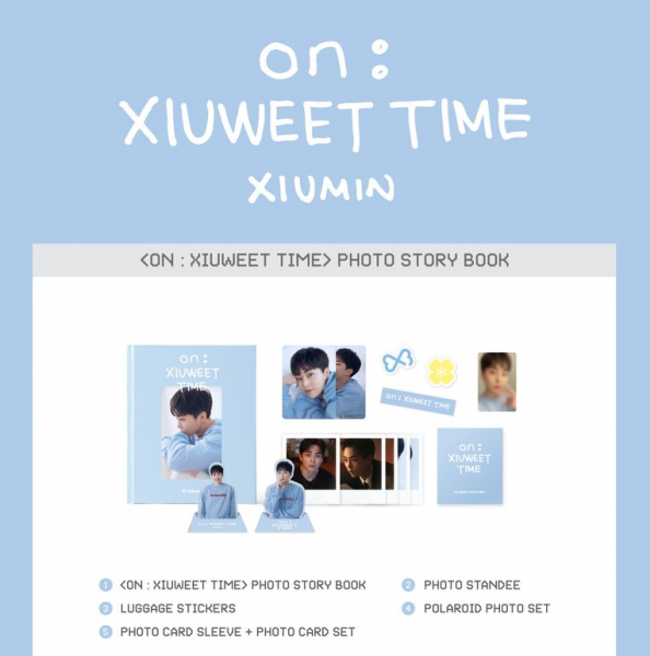 EXO XIUMIN - ON : XIUWEET TIME PHOTO STORY BOOK