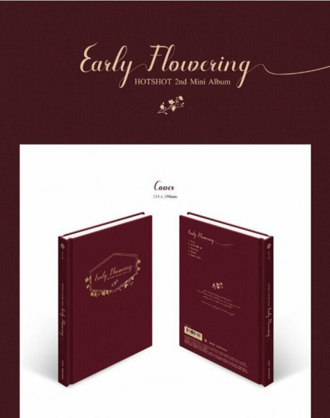 HOTSHOT 2nd Mini Album - Early Flowering