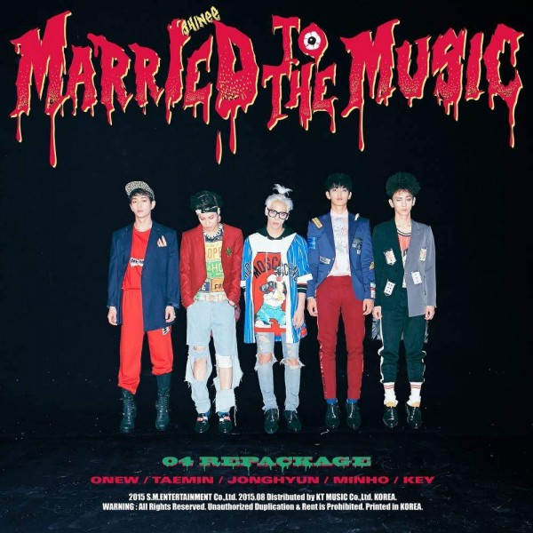 SHINee Vol. 4 Repackage Album - MARRIED TO THE MUSIC