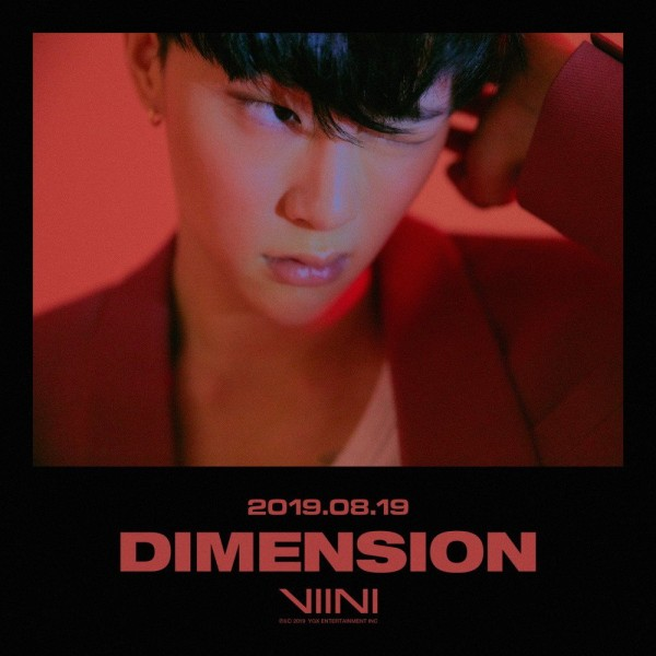 VIINI 1st Mini Album - DIMENSION