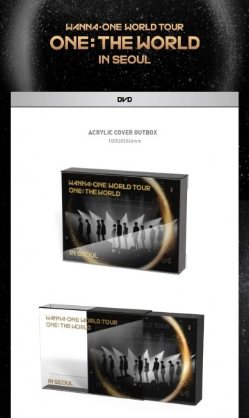 WANNA ONE - WORLD TOUR ONE: THE WORLD IN SEOUL DVD (LAST ON STOCK!)