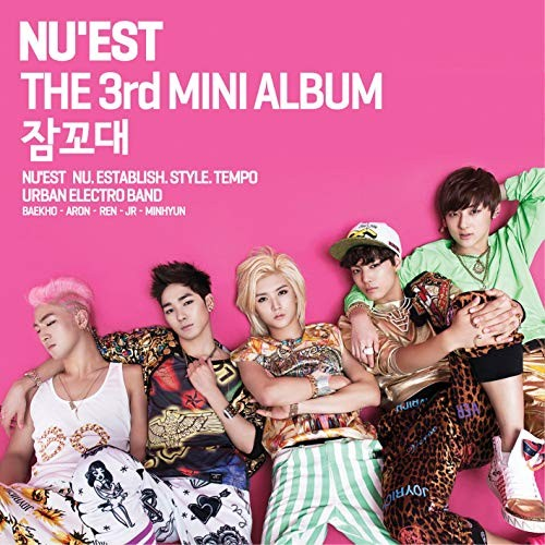 NU'EST - 3rd Mini Album Sleep Talking
