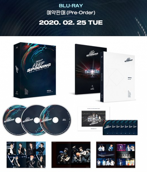 GOT7 - GOT7 2019 WORLD TOUR 'KEEP SPINNING' IN SEOUL BLU-RAY