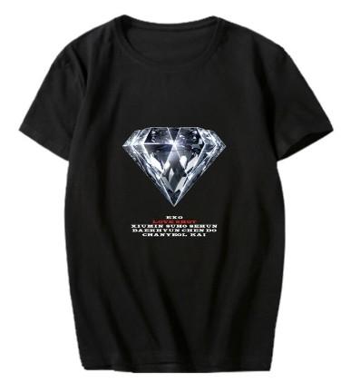 EXO - T-Shirt (Größe:L) - LOVE SHOT