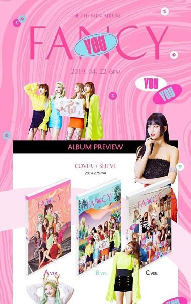 Twice 7th Mini Album - FANCY YOU