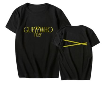 ITZY - T-Shirt GUESS WHO (Größe: L)