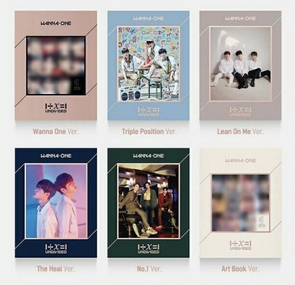 WANNA ONE SPECIAL ALBUM (UNDIVIDED)