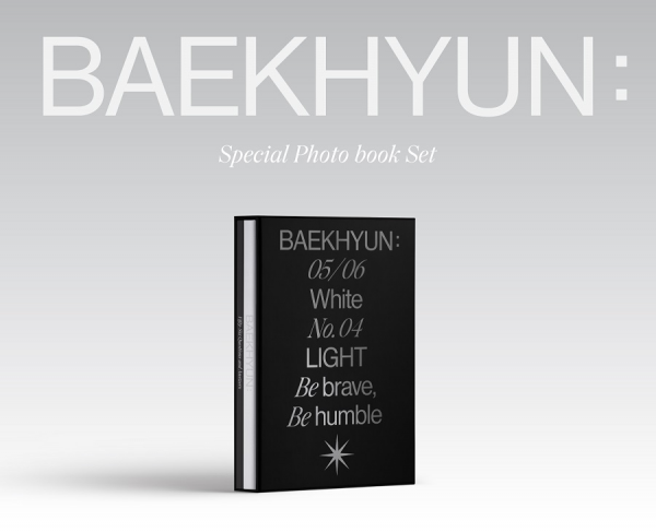 BAEK HYUN - SPECIAL PHOTO BOOK SET