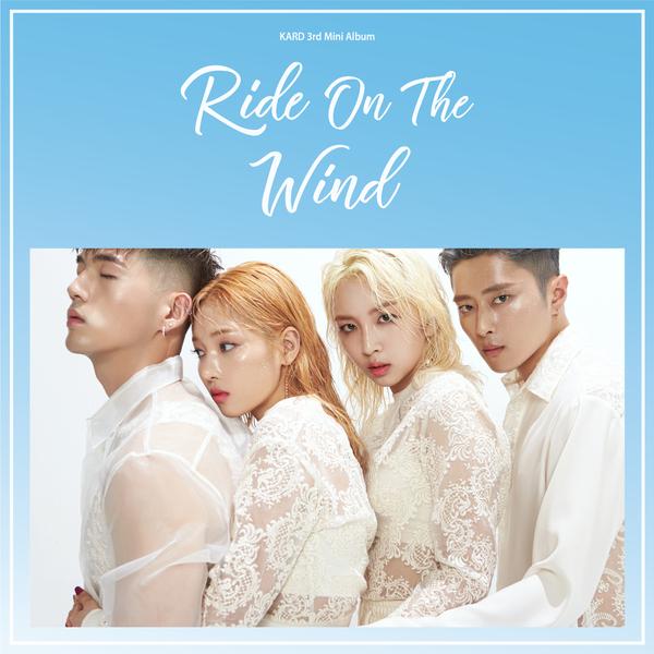 KARD 3rd Mini Album - Ride On The Wind