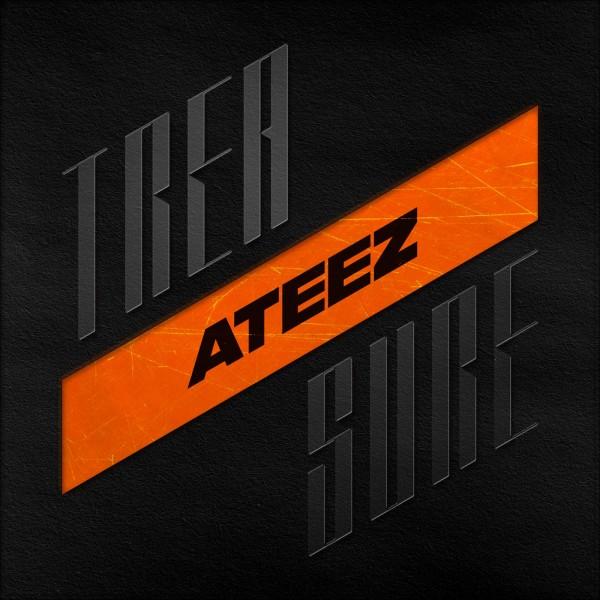 Ateez Album - Treasure EP.1 : All To Zero CD (RE-RELEASE)
