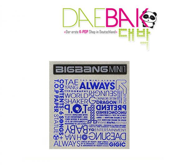 BIGBANG - Always 1st Mini Album