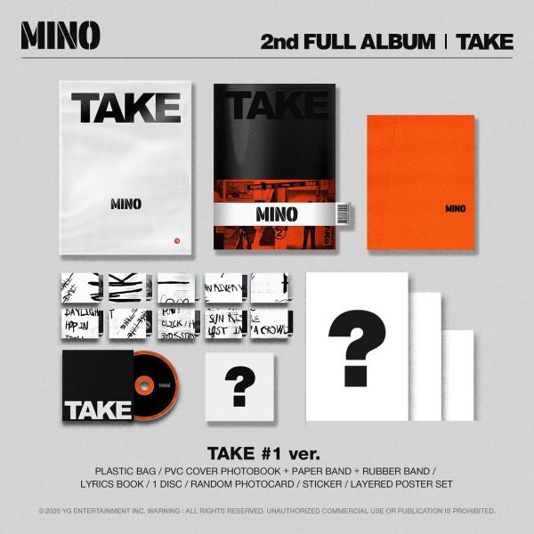 MINO (WINNER) 2nd FULL ALBUM 'TAKE'