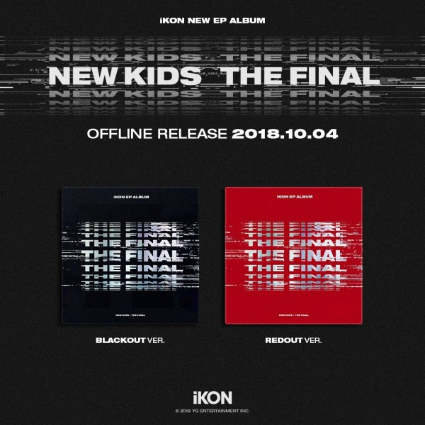 iKON Mini EP Album - New Kids : The Final