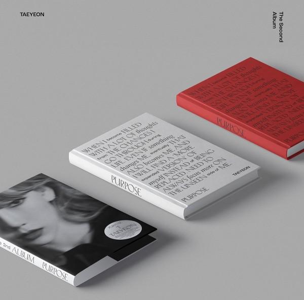 Taeyeon - 2nd Album Purpose (Black Vers.)