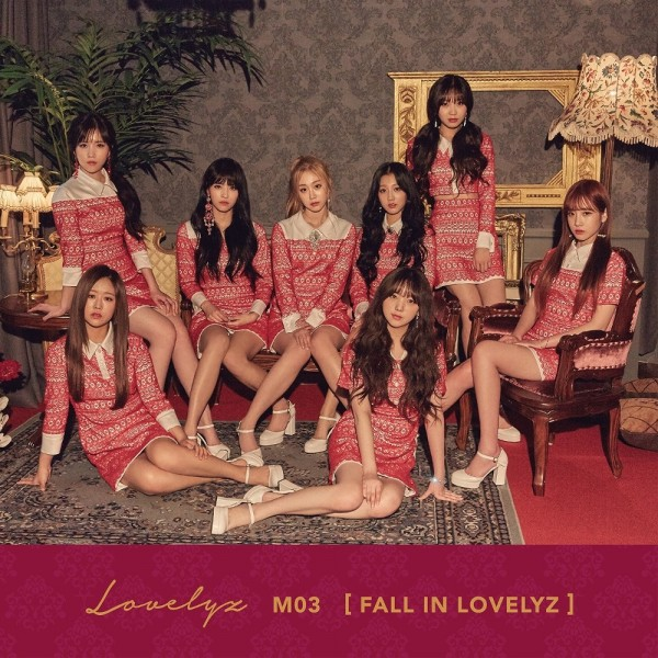 LOVELYZ 3rd Mini Album - FALL IN LOVELYZ