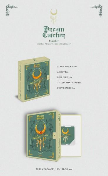 Dream Catcher Mini Album Vol. 4 - The End of Nightmare (Kihno Kit Album)