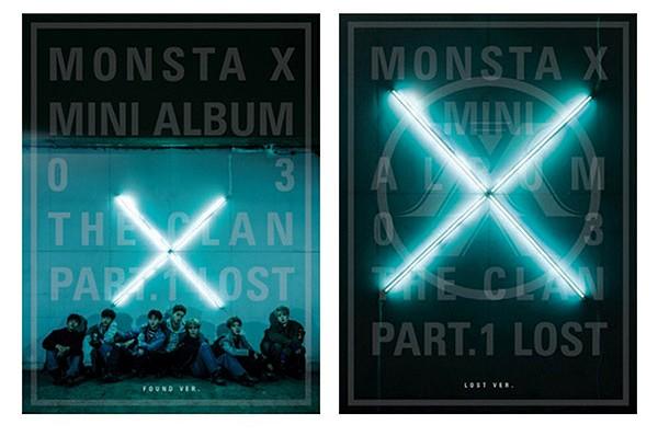 MONSTA X - 3rd Mini Album - THE CLAN 2.5 PART.1 LOST