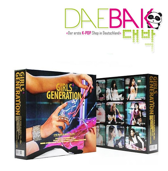Girls Generation - Mr.Mr. 4th Mini Album