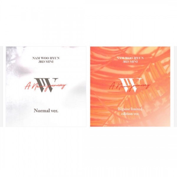 INFINITE Nam Woo Hyun 3rd Mini Album - A New Journey