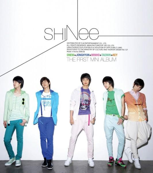SHINEE - THE FIRST 1st MINI ALBUM [ Replay ]