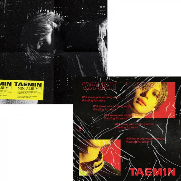 Taemin 2nd Mini Album - WANT