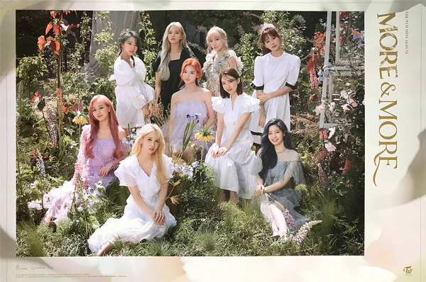 Twice - More & More Poster