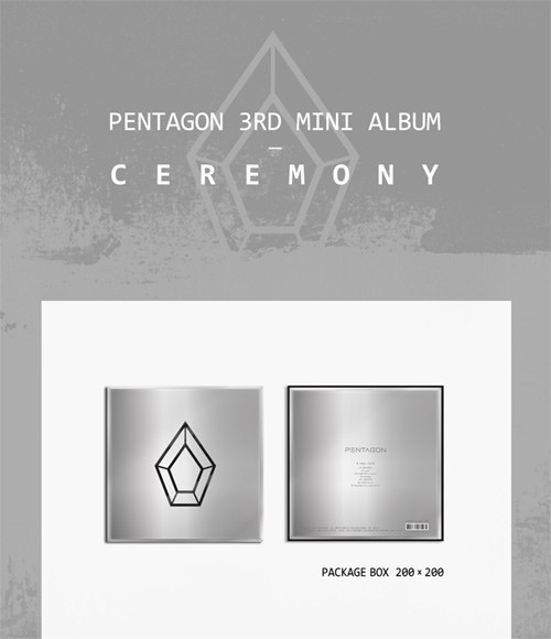 PENTAGON 3rd Mini Album - CEREMONY