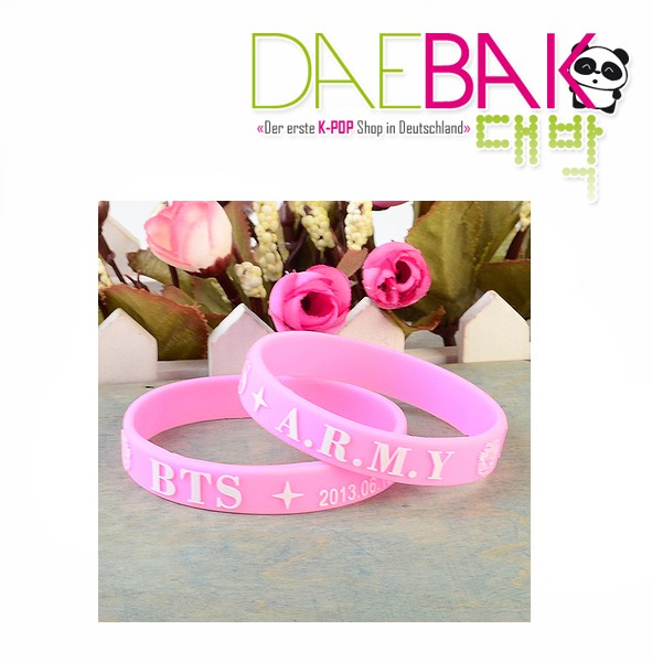 BTS - Armband (Pink)