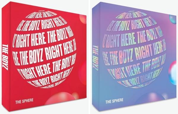 THE BOYZ 1st Single Album - The Sphere (Red Version)