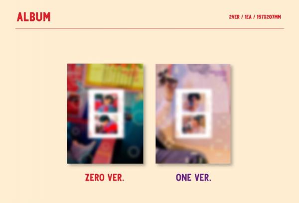 JEONG SEWOON 1st Album - 24 Part 2
