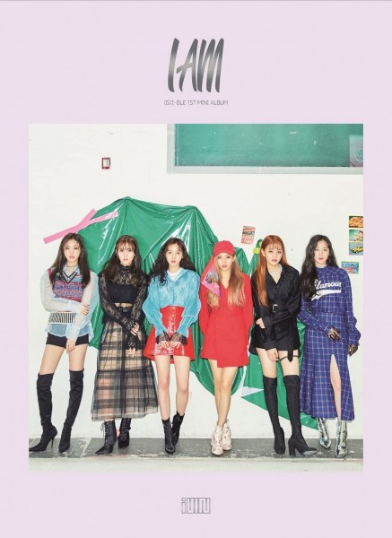 (G)I-DLE 1st Mini Album - I AM