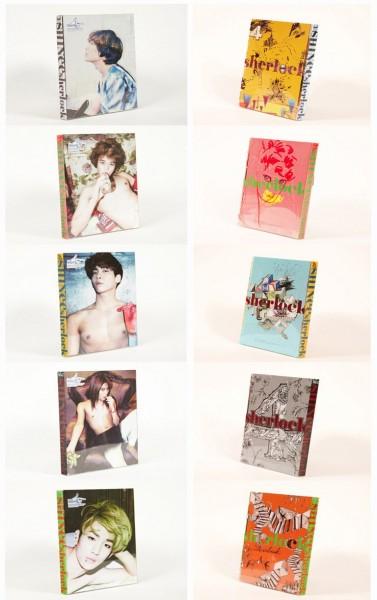 SHINee - Mini Album Vol.4 [Sherlock]