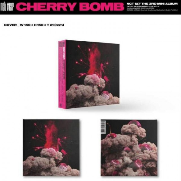 NCT 127 - CHERRY BOMB 3nd Mini Album (RE-RELEASE)
