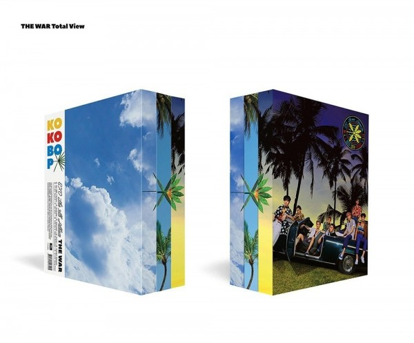EXO Vol. 4 - THE WAR (KOKOBOP) (chinese Version)