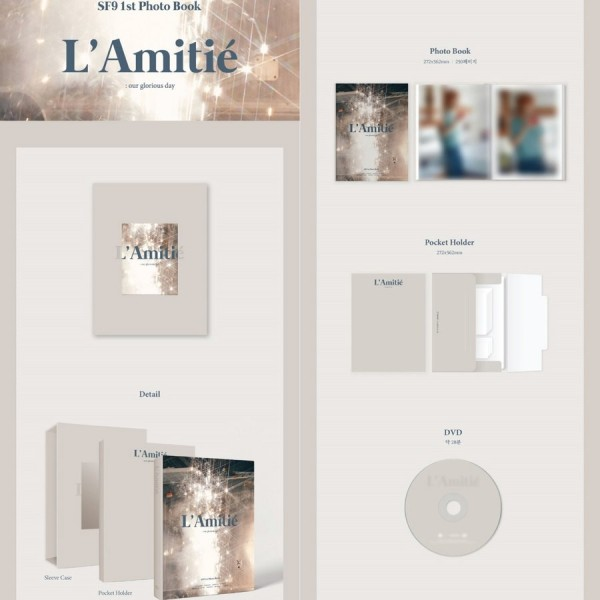 SF9 - 1st Fotobuch + DVD [L'Amitié] (Last in Stock!)